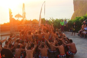 bali kecak dance performance
