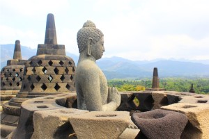 budhist temple borobudur