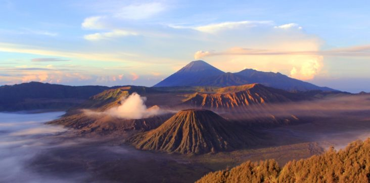 penanjakan bromo - an image part of Bromo Ijen Tour From Bali Airport